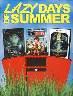 Lazy Days Of Summer (Boxset)   Lady In Water / Ant Bully / The NeverEnding Story: Movies & TV