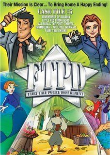 Fairy Tale Police Department: Case File #5: Adventures of Aladdin, Little Red Riding Hood, Ali Baba & The Forty Thieves, Thumbelina, The Little Mermaid, A Fairy Tale Ending, Animated: Movies & TV