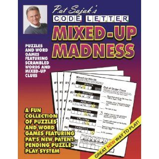 Pat Sajak's Code Letter Mixed Up Madness: Pat Sajak: 9781572439863: Books