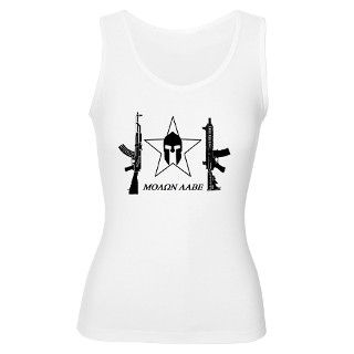 Molon Labe M4 Womens Tank Top by johnny556