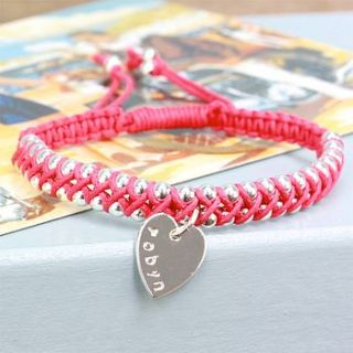 criss cross friendship bracelet by lisa angel