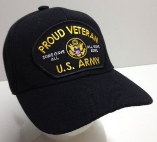 Proud Veteran Vet All Gave Some Some Gave All US Army USA Ball Cap Patch Hat OIE OEF