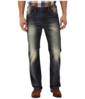 Buffalo David Bitton Driven Basic Sheeba in Heavy Authentic Worn Mens Jeans (Blue)