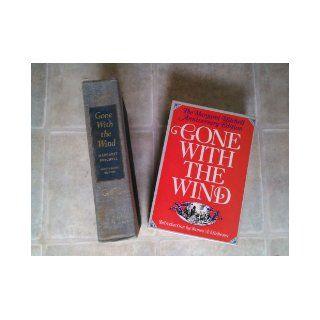 Gone With The Wind Margaret Mitchell Anniversary Edition 1975 Margaret Mitchell Books