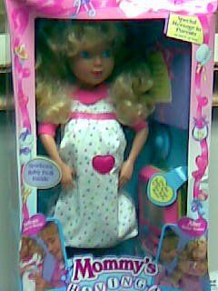 Mommy's Having a Baby (Rare) Tyco Doll 1992 Toys & Games