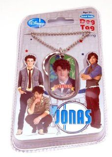 Jonas Brothers Nick Dog Tag Keychain Necklace Toys & Games
