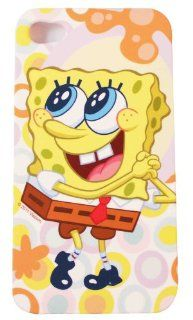 BUKIT CELL Nickelodeon TM SpongeBob SquarePants HARD BACK PIECE Faceplate Protector Case Cover (SpongeBob Wishing) for Apple iPhone 4S / 4G / 4 (Fits any carrier AT&T, VERIZON AND SPRINT) + Free WirelessGeeks247 Metallic Detachable Touch Screen STYLUS