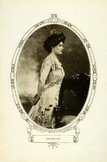1908 Print Broadway Stage Actress Reba Dale Edwardian Portrait Melvin H. Sykes   Original Halftone Print