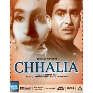 Chhalia (1960) (Hindi Film / Bollywood Movie / Indian Cinema DVD): Raj Kapoor, Nutan, Pran, Rehman, Bupet Raja: Movies & TV