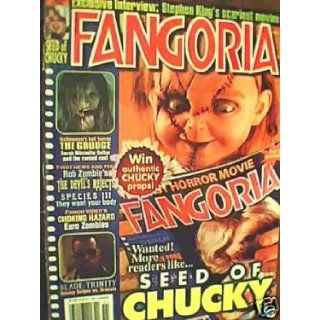 FANGORIA MAGAZINE ISSUE # 238   SEED OF CHUCKY ON COVERNOVEMBER 2004 FANGORIA Books