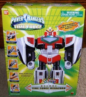 Power Rangers Time Force Deluxe Megazord Action Figure: Toys & Games