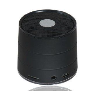 Rechargeable Bluetooth Subwoofer Speaker Sound Box For Cellphone Laptop Tablet (Black) Computers & Accessories