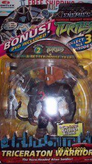 TRICERATON WARRIOR Action Figure Teenage Mutant Ninja Turtles TMNT Playmates Toy Toys & Games