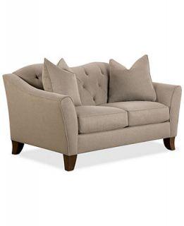 Kira Fabric Loveseat   Furniture
