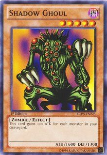 Yu Gi Oh   Shadow Ghoul (LCJW EN228)   Legendary Collection 4 Joey's World   1st Edition   Common Toys & Games