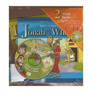 Bible Stories David and Goliath / Jonah and the Whale (2 Story Books & Read Along CD) Jason Dirks (Songs), Igor Woroniuk (Songs) 9781554541492 Books