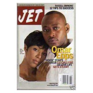 JET Magazine Issue May 28, 2007 (Omar Epps & Keisha Epps Cover) Books