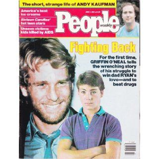 "PEOPLE MAGAZINE JUNE 4, 1984 ""GRIFFIN O'NEAL/ANDY KAUFMAN"" Various Books"