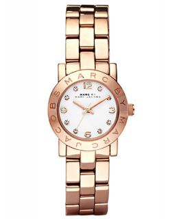 Marc by Marc Jacobs Watch, Womens Mini Amy Rose Gold Tone Stainless Steel Bracelet 26mm MBM3078   Watches   Jewelry & Watches