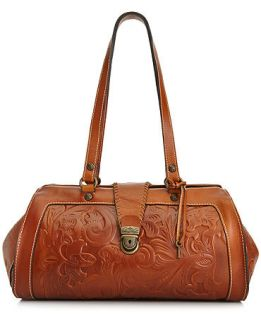 Patricia Nash Tooled Cortes Satchel   Handbags & Accessories