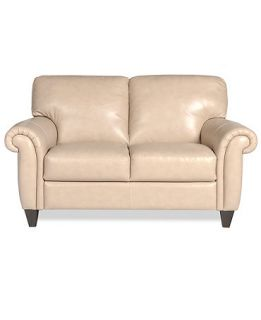 Arianna Leather Loveseat   Furniture