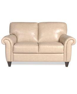 Arianna Leather Loveseat   Furniture