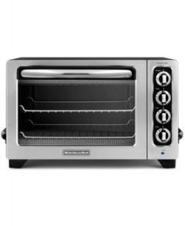 Krups TO740D50 Definitive Series Stainless Steel Convection Oven with Rotisserie   Electrics   Kitchen