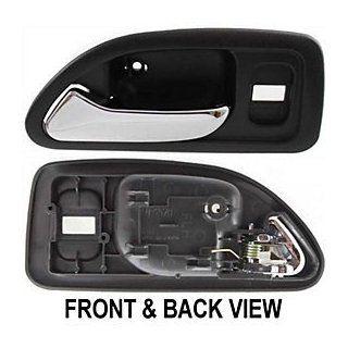HONDA ACCORD 94 97 FRONT DOOR HANDLE LH, Inside, GREY, DX / LX Model Automotive