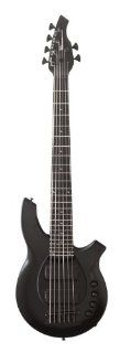 Music Man Bongo 182 66 64 P2 CS BK Bass Guitar, Stealth Black: Musical Instruments