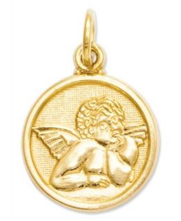 14k Gold Necklace, Saint Christopher Medal Pendant   Necklaces   Jewelry & Watches