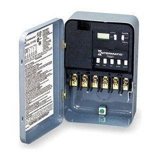 Intermatic ET174C Energy Controls   Electronic Time Switches   24 Hour Electronic   Wall Timer Switches