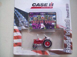Ertl Case IH State Tractor Series #24 Rhode Island Farmall 230 Toys & Games