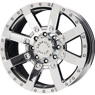 "American Outlaw TnT Series Chrome Wheel (20x9""/8x170mm) Automotive"