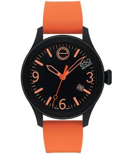 ESQ Movado Watch, Unisex Swiss ESQ One Orange Silicone Strap 43mm 07301443   Watches   Jewelry & Watches