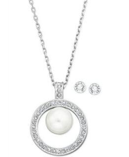 Swarovski Jewelry Set, Angelic Sapphire Earrings and Pendant Set   Fashion Jewelry   Jewelry & Watches
