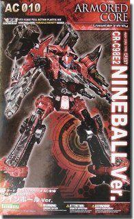 Kotobukiya   Armored Core figurine Fine Scale Model Kit 1/72 CR C98E2 Ninebal Toys & Games