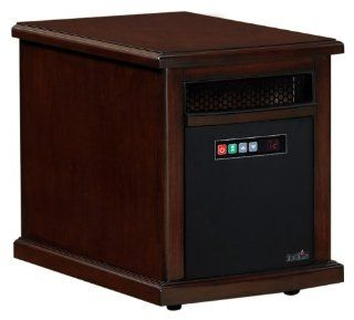 Duraflame Infared Quartz Electric Portable Heater Air Purifier Colby   Cherry   Space Heaters For Large Rooms