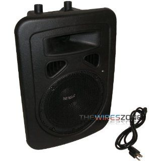 "Earthquake Sound DJ 8M 2 Way Portable High Powered 480 Watt 8"" PA/Monitor Speaker System Musical Instruments"