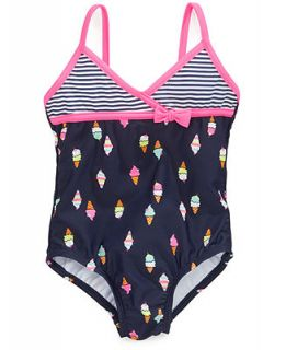 Carters Baby Girls One Piece Ice Cream Cone Swimsuit   Kids