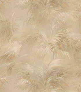 Brewster 149 17657 Palm Fern Gold Textures Pattern Wallpaper