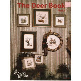 The Deer Book Vol. 1 (Counted Cross Stitch Pattern CK146): Betty Haddad Shelton: Books