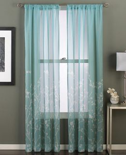 CHF Mirabella 50 x 84 Pole Top Panel   Sheer Curtains   For The Home