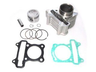 Big Bore Kit GY6 50cc to 80cc Scooter Moped 139 QMB 139QMB Cylinder Piston CK14 Automotive