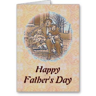 """""""Being a Dad"""" Father's Day Greeting Card"""