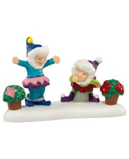 Department 56 North Pole Village A Bloomin Merry Christmas Collectible Figurine   Retired 2013   Holiday Lane
