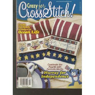 Crazy for Cross Stitch Magazine, June/July 2000 (Issue Number 59) Nancy Harris Books