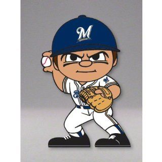"Milwaukee Brewers Official MLB 2.75"" Collectible Toy Figure  Sports Fan Toy Figures  Sports & Outdoors"