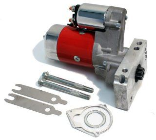 CHEVY SMALL BLOCK/BIG BLOCK 3HP TILTON STYLE HIGH TORQUE GEAR REDUCTION RACING STARTER   RED Automotive