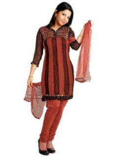 SLMY1003   Cbazaar Salwar Kameez Multicolored: Clothing