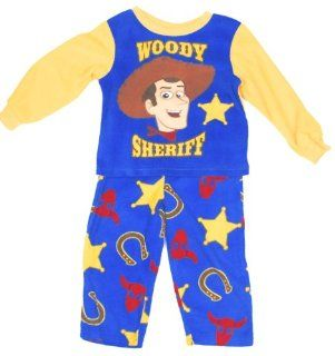 Disney� 'Sheriff Woody' Cowboy Fleece Pajamas PJ's 2 Piece Set (3T) : Infant And Toddler Pajama Sets : Baby